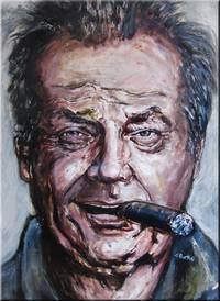 Jack Nicholson Study #5