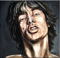 Mick Jagger Study #3