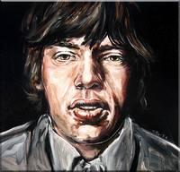 Mick Jagger Study #4
