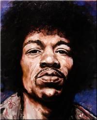 Jimi Hendrix Study #5