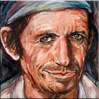 Keith Richards Study