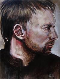 Thom Yorke Study #6